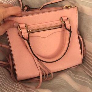 Pink barely used Rebecca minkoff mini